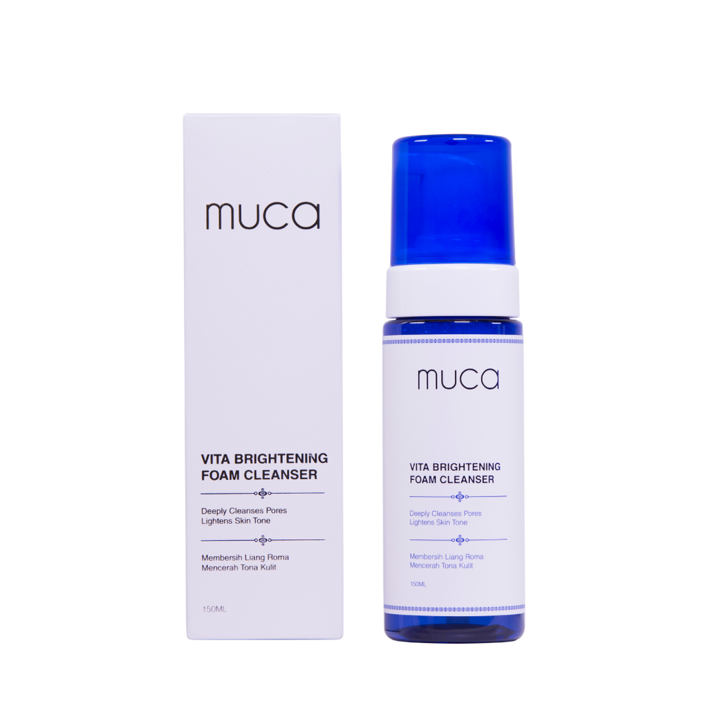 MUCA Vita Brightening Foam Cleanser (150ml)