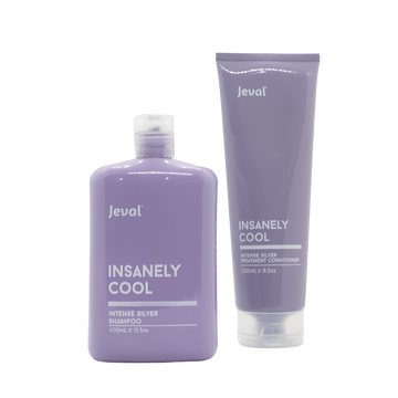 Jeval Insanely Cool Intense Silver Shampoo & Treatment Conditioner
