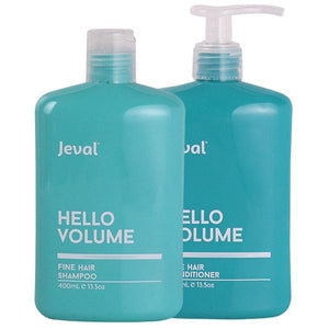 Jeval Hello Volume Fine Hair Shampoo & Conditioner Duo 400ml