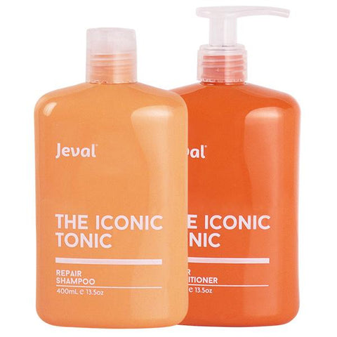 Jeval Iconic Tonic <br>Repair Shampoo & Conditioner Duo 400ml