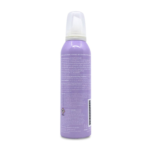 Jeval Icy Treat <br> Leave-in Blonde Toning Reconstructor Mousse 200ml