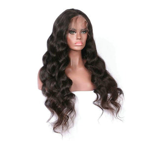 Body Wave Virgin Lace Frontal Wigs
