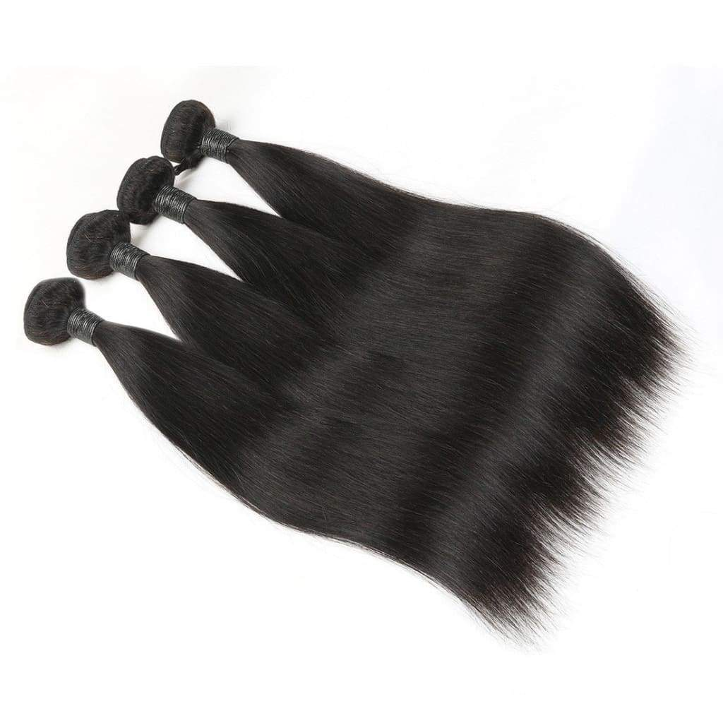Brazilian Straight Virgin Human Hair Extensions Sold by Soie Virgin Hair Extensions In Atlanta, Georgia. We deliver or ship everywhere. Call 404-669-6832 or visit https://SoieHair.com