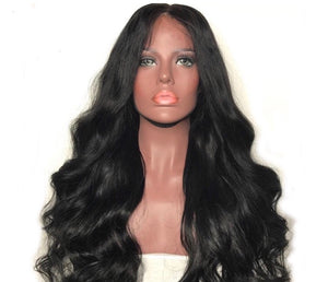 Brazilian Body Wave Virgin Lace Frontal Wigs