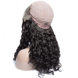 Raw Burmese Curly Virgin Lace Frontal Wigs