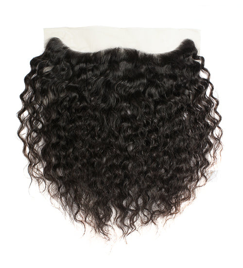 Raw Cambodian Curly Virgin Hair Frontals