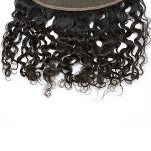 Raw Burmese Curly Virgin Hair Frontals