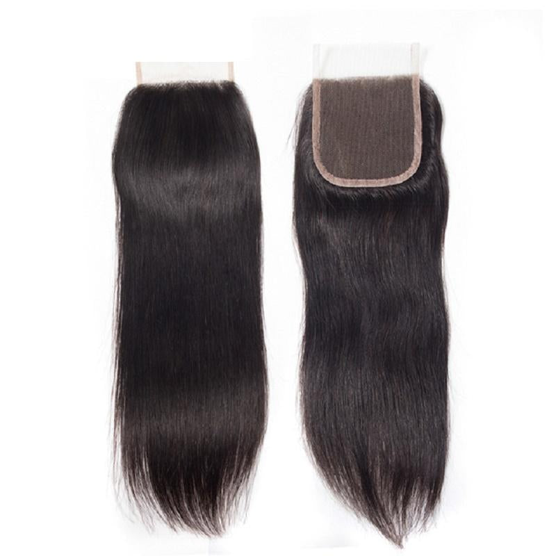 Mink Straight Virgin Hair Closures