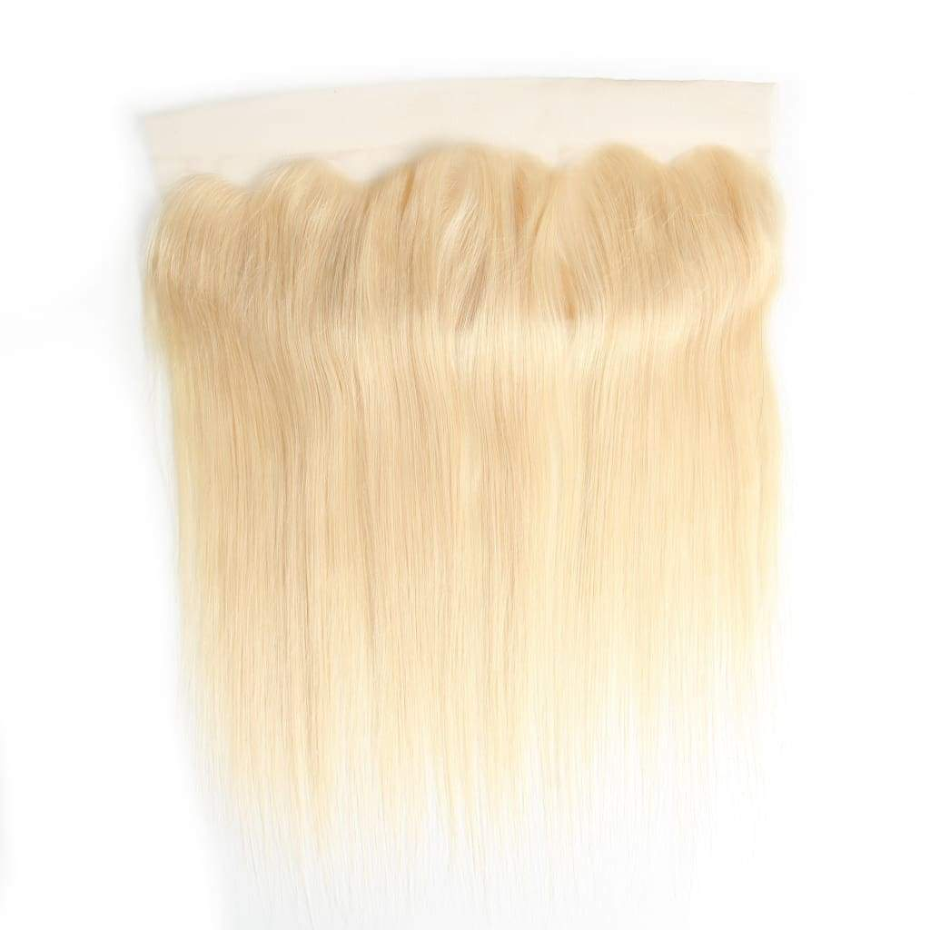 Raw Indian/mink Straight Blonde Frontals - Hair Extensions