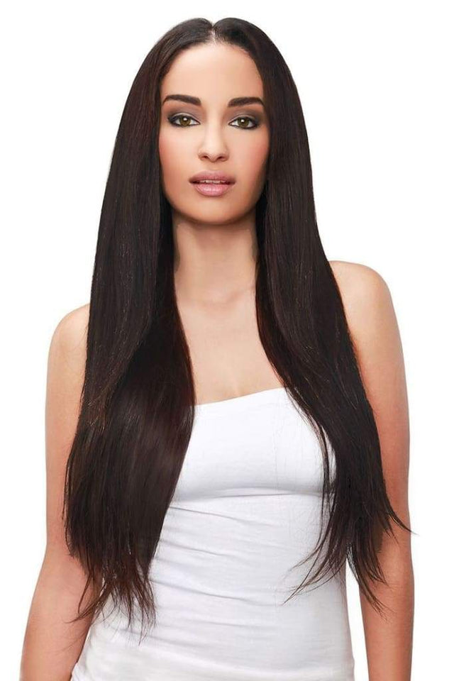Raw Indian/Mink Straight Virgin Human Hair Extensions by Soie Virgin Hair Extensions In Atlanta, Georgia. We deliver or ship everywhere. Call 404-669-6832 or visit https://SoieHair.com