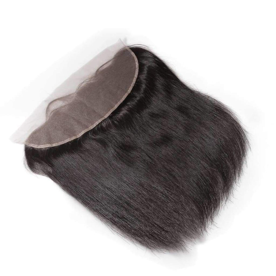 Raw Indian/mink Straight Hair Frontals - Hair Extensions