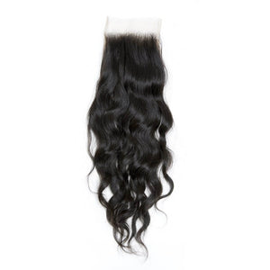 Raw Indian/Mink Natural Curl Virgin Hair Closures