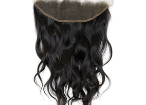 Raw Indian Natural Curl Virgin Hair Frontals