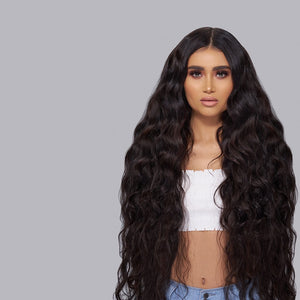 Raw Indian/Mink Natural Curl Virgin Hair Extensions