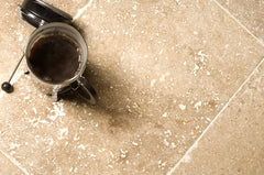 Noce Travertine; Tumbled