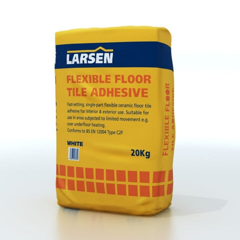 Larsen Flexible White Adhesive