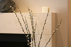 Moca Creme Limestone; Honed