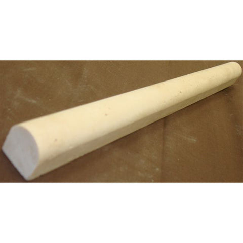 Travertine Pencil; Honed & Unfilled