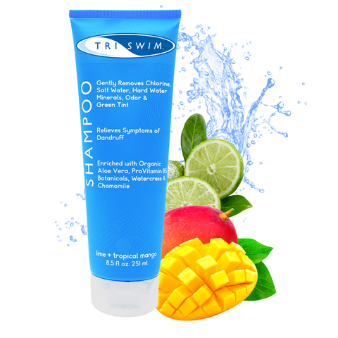 TRISWIM Chlorine Removing Hair Shampoo For Swimmers Lime Mango 250ml