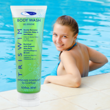 TRISWIM Chlorine Removing Body Wash For Swimmers Apricot Mango 250ml