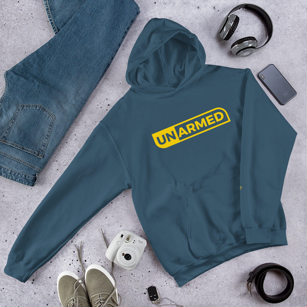 Unarmed Hooded Sweatshirt - honest rags