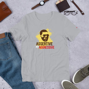 Assertive not Aggressive Short-Sleeve Unisex T-Shirt - honest rags