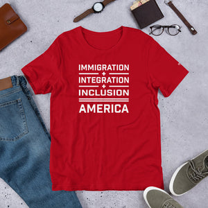 Immigration Short-Sleeve Unisex T-Shirt - honest rags