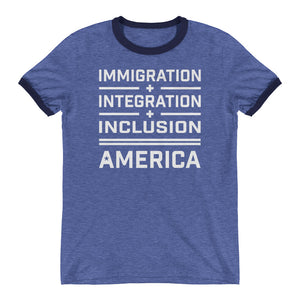 Immigration Ringer T-Shirt - honest rags