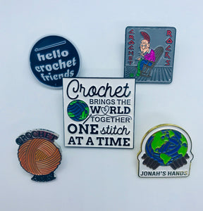 Jonah's Hands Pin Collection