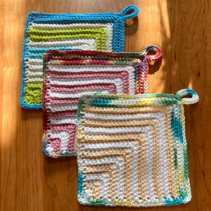Handmade Dishcloth (set of 3)