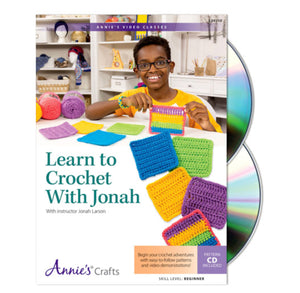 Learn To Crochet With Jonah DVD
