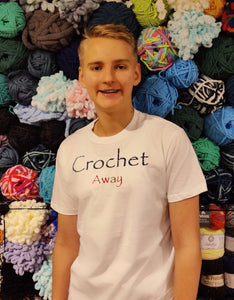 Crochet Away Statement Tee, Unisex