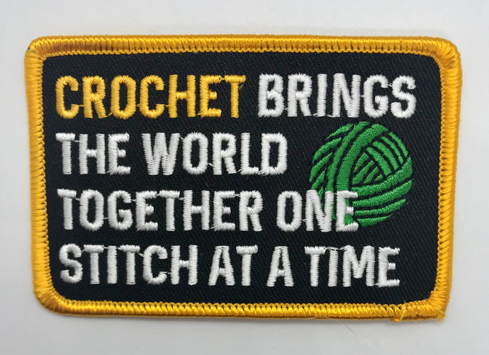 """One Stitch At A Time"" Patch"