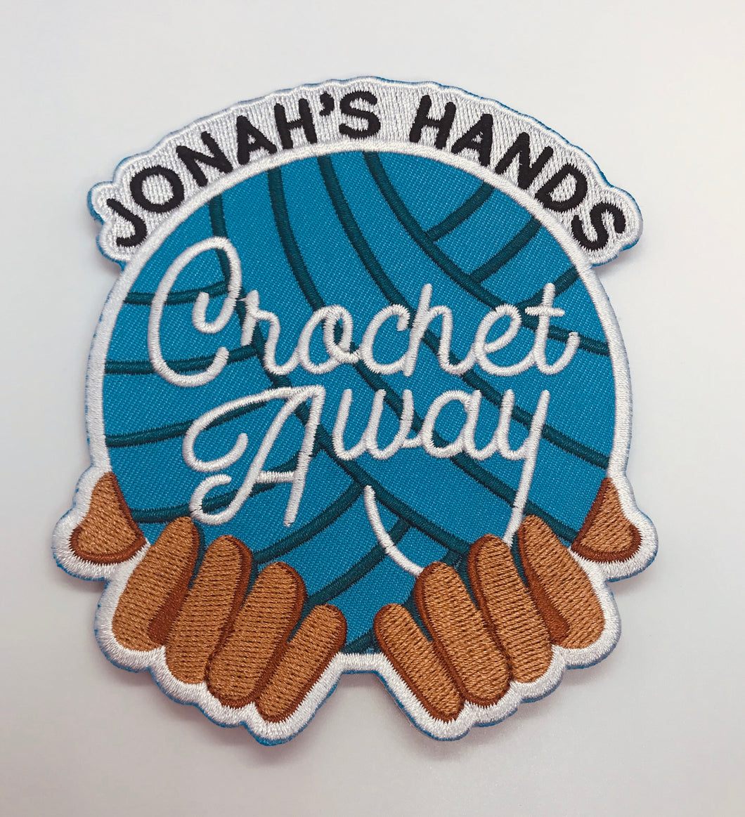 Jonahs Hands Crochet Away Patch