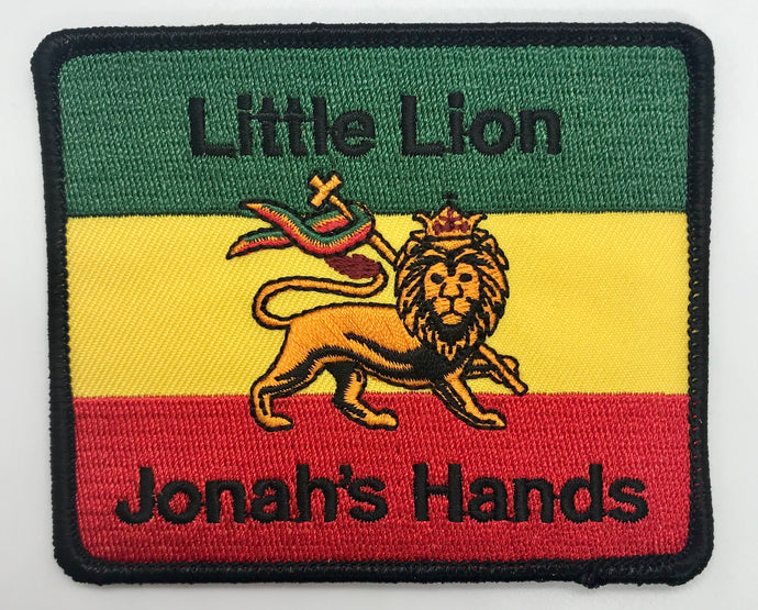 """Little Lion"" Square Patch"
