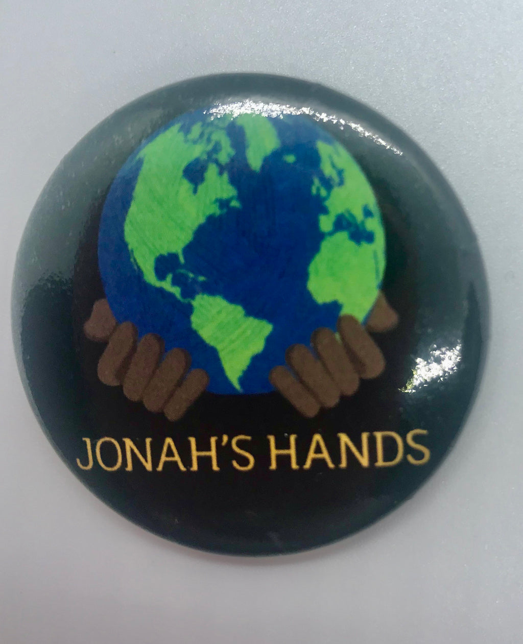 Jonah's Hands Button