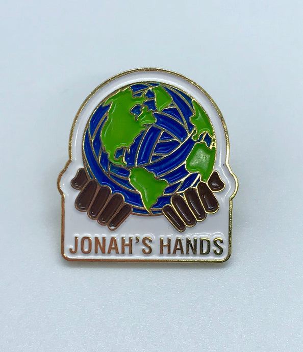 """Jonah's Hands"" Collectible Enamel Pin"