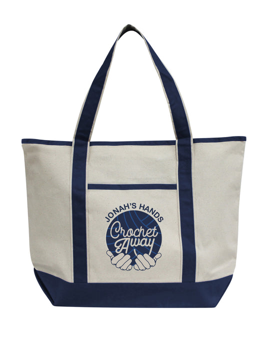 Jonah's Hands Jumbo Tote (4 colors)