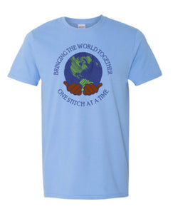 Bringing The World Together One Stitch At A Time Tee, Unisex
