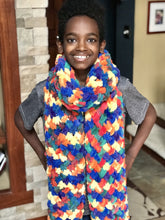 Handmade Criss Cross Cloud Scarf (Several Colors)