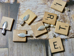 Scrabble Letter, LETTER ONLY - No Chain