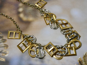 One of a Kind Vintage Eclectic Necklace