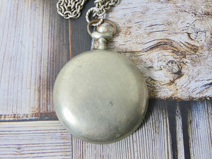 One of a kind Vintage Pocket Watch Assemblage Necklace