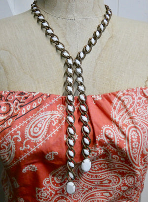 Vintage Necklace One of a Kind Eclectic lariat style