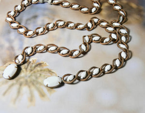Lariat Style Vintage One of a Kind Unique Necklace