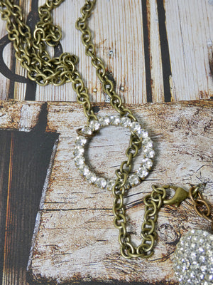 Lariat Necklace- One of a Kind Vintage