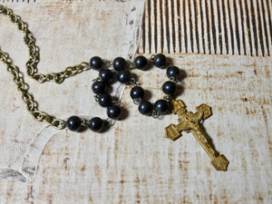 One of a Kind Vintage Crucifix Cross Necklace