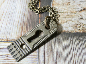 Key Hole Necklace