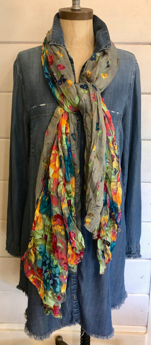 Scarf, Colorful Multi purpose lightweight Scarf