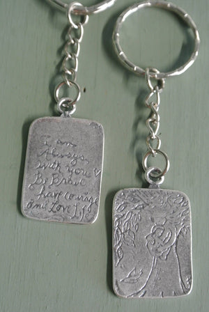 Quote Key Chain